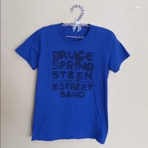 4/$25 Bruce Springsteen & the estreet tee small